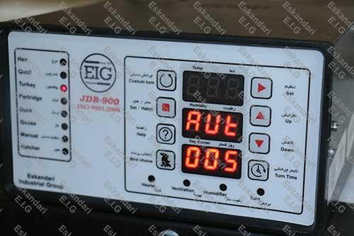 برد دستگاه جوجه کشی JDR900