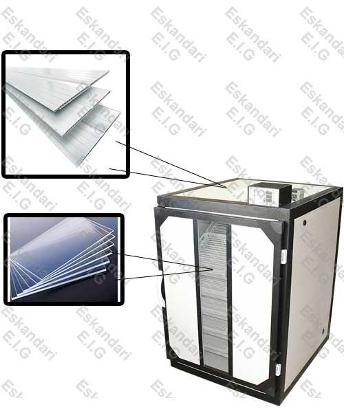 دستگاه های جوجه کشی سوپر مینیاتور 1008 تایی صنعتی با درب PVC و شیشه پلی کربنات