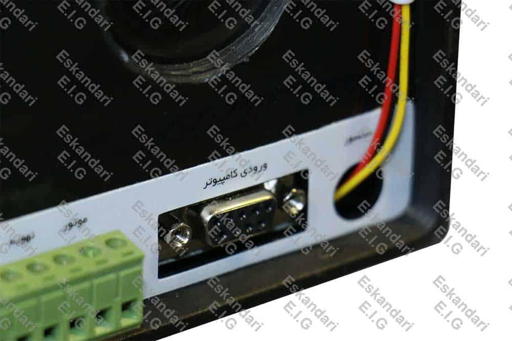 پورت ورودی کامپیوتر دستگاه های جوجه کشی EIG