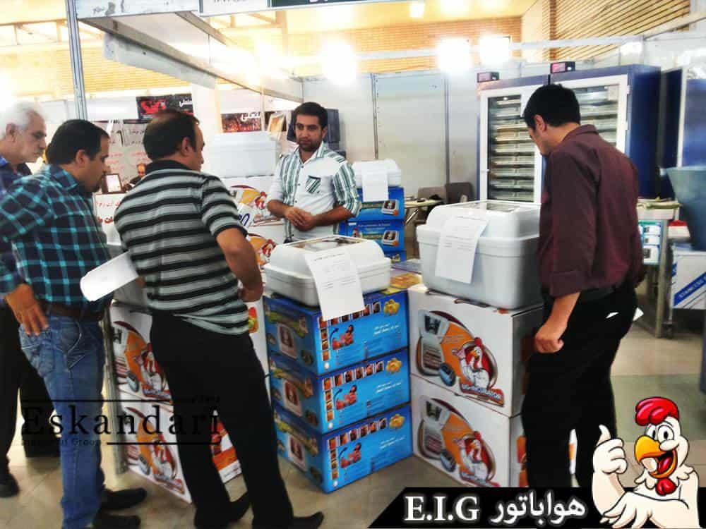 محصولات جوجه کشی و مرغداری در نمایشگاه تبریز