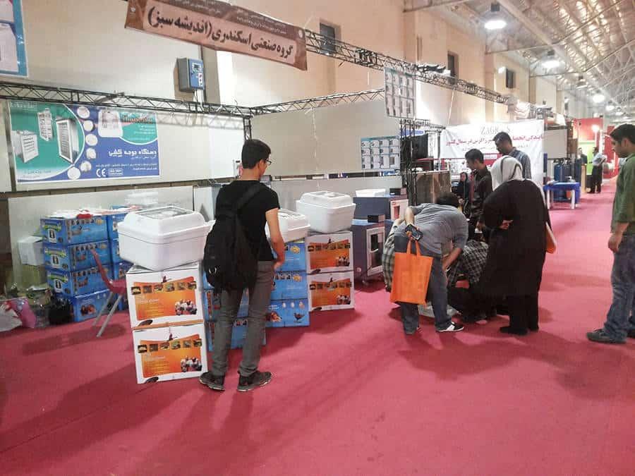 گروه صنعتی اسکندری در نمایشگاه دام و طیور قائم شهر