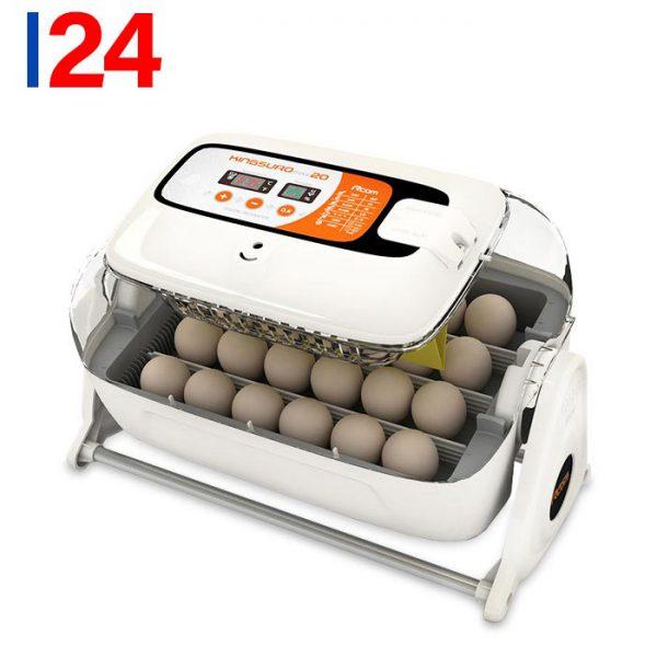 دستگاه جوجه کشی کره ای rcom suro 20 egg incubator