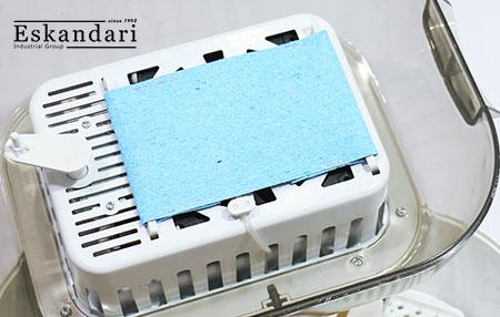 پد سلولزی تامین رطوبت دستگاه جوجه کشی خانگی ۱۲ تایی حرفه ای