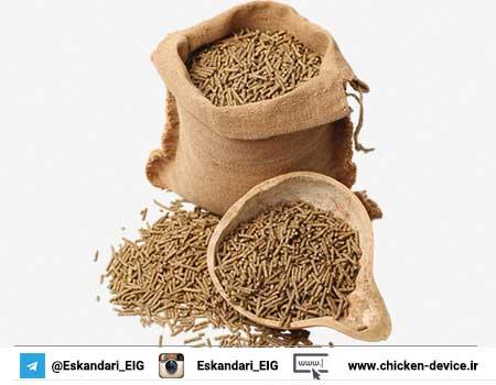 تجهیزات خط تولید خوراک طیور | آموزش جیره نویسی تکمیلی مرغ