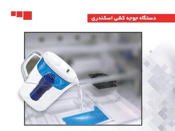 تامین رطوبت با استفاده از ظرف آب و فن
