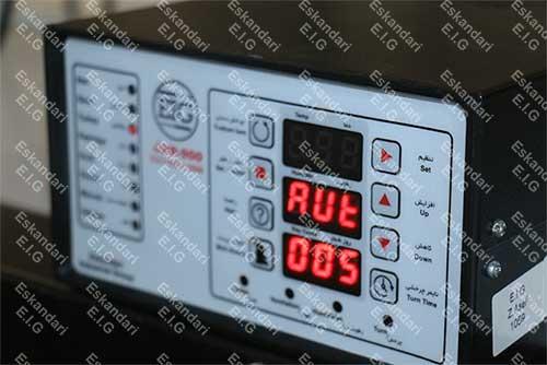 برد JDR 900 دستگاه های جوجه کشی سوپر مینیاتور 336 تایی