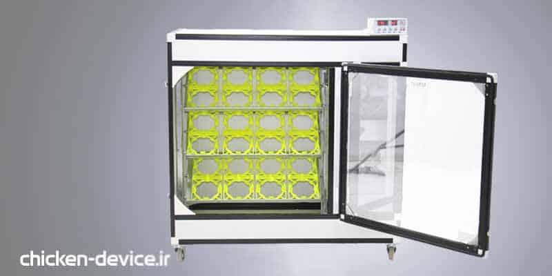 دستگاه جوجه کشی شترمرغی اسکندری مدل 24 تایی