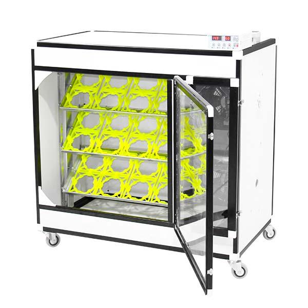 ظرفیت دستگاه جوجه کشی شترمرغی 24 تایی - چیکن دیوایس