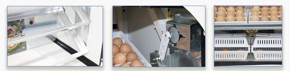 بررسی سیستم چرخش تخم و متعلقات آن egg incubator 252