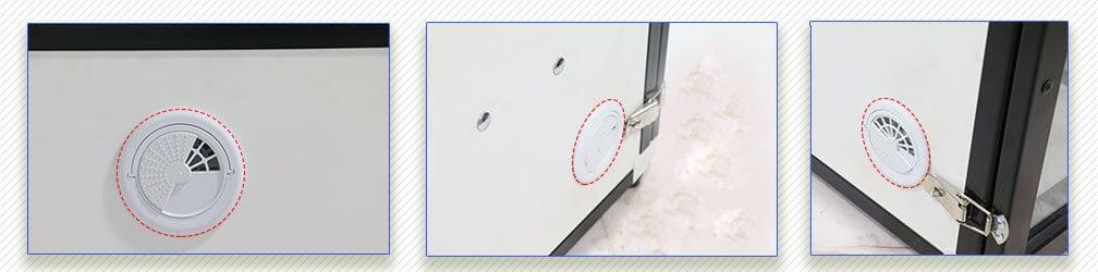 استفاده از سیستم تهویه و گردش هوای هوشمند
