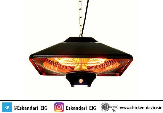 لامپ مادون قرمز برای محیط های رستورانی و تفریحی