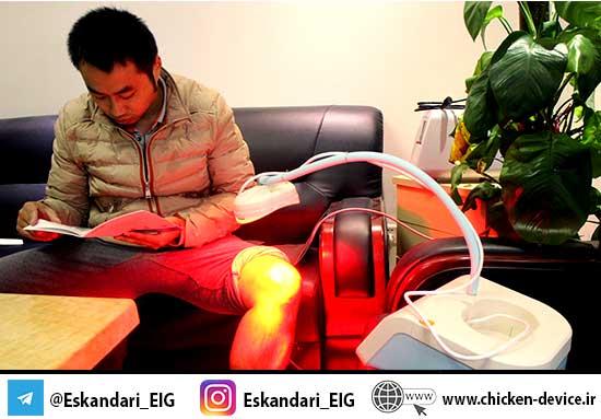 چراغ مادون قرمز برای موارد درمانی انسانی