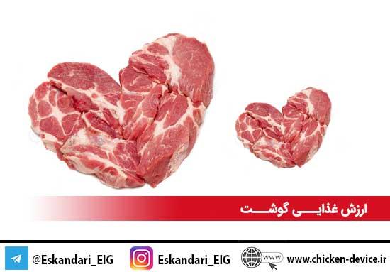 ارزش غذایی گوشت