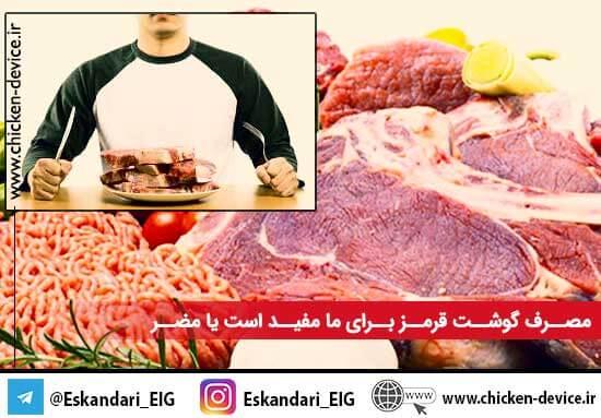 مصرف گوشت قرمز برای ما مفید است یا مضر