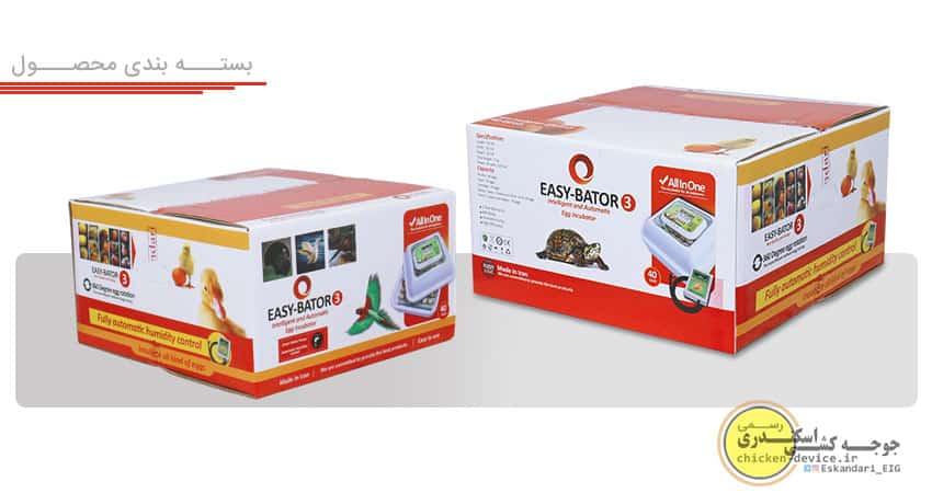 بسته بندی محصول ایزی باتور 3 اتوماتیک اسکندری